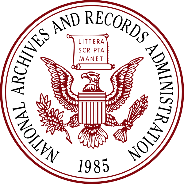 National Archives & Records Administration Logo