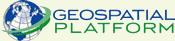 Graphic GeoPlatform Logo.