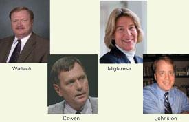 Photos of NGAC leadership team.