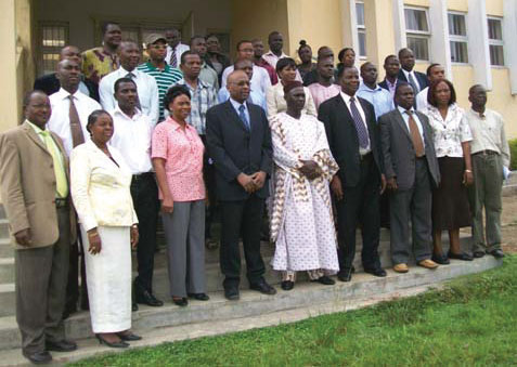Photo of West Africa-Workshop Attendees.