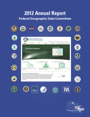 2012 FGDC Annual Report Cover
