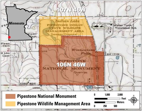 Pipestone graphic