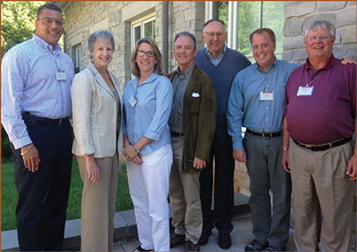 Ann Castle and others at NGAC meeting.
