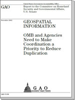 Cover of GAO publication.