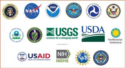 USGEO subcommittee membership logos.