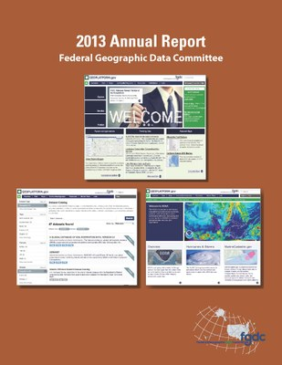 2013 FGDC Annual Report Cover