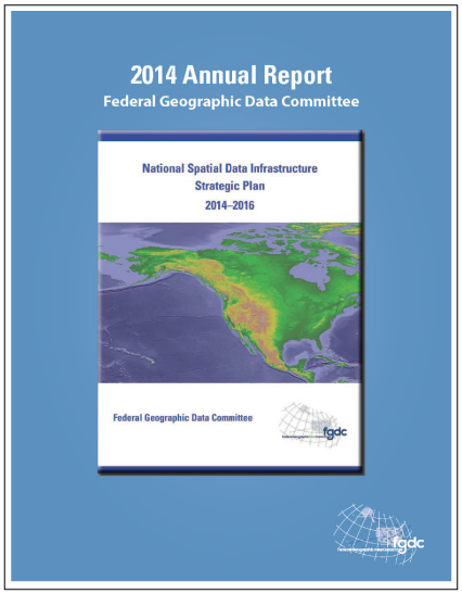 FGDC Annual Report 2014 Cover image