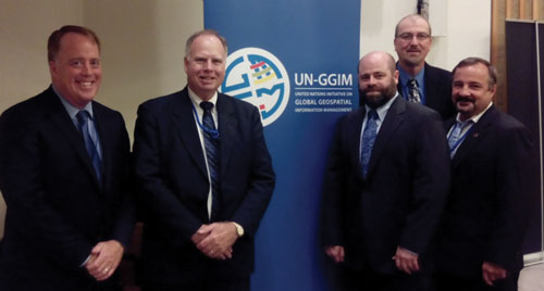 Delegation of 4th session of United Nations Committee of Experts