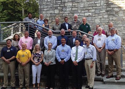 Photograph of NGAC members.