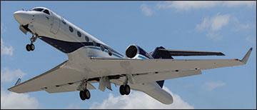 Photo of a hurricane reconaissance aircraft.