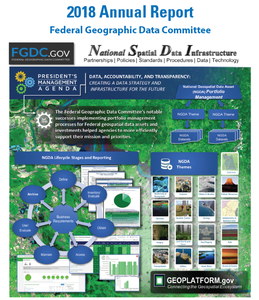 FGDC Annual Report cover 2018